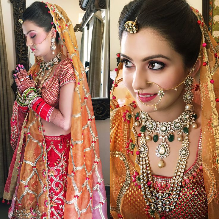 beautiful indian brides ❤️ traditional brides Follow us on Instagram for more stories