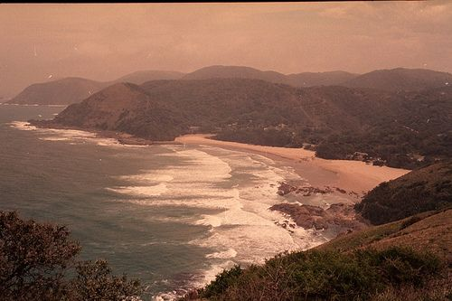 Not Ntafufu bay but rather Port St.Johns