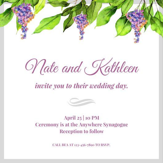 Jewish Wedding Altar Name: 25+ Best Ideas About Jewish Wedding Invitations On