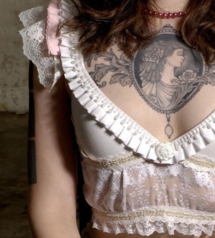 24 Best Chest Tattoos For Women Side Quote Images On: Best 25+ Women Chest Tattoos Ideas On Pinterest