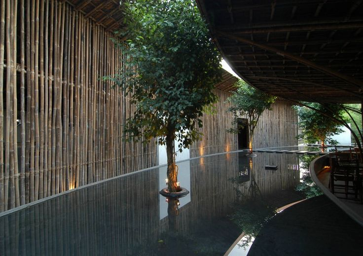 Ono Coffe. Architects: Vo Trong Nghia. Location: Binh Duong Province, Vietnam.