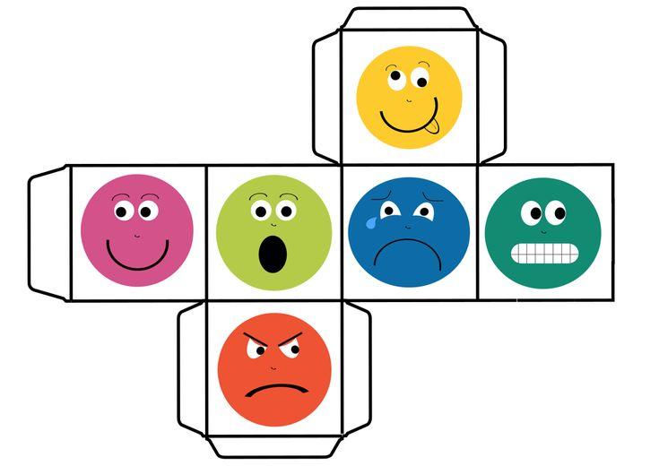 Educación para las Emociones jugamos con otro DADO DE LAS EMOCIONES 2 vía Orientación Andujar
