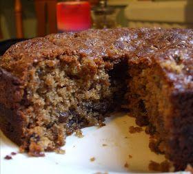 Brown sugar fruit mince cake