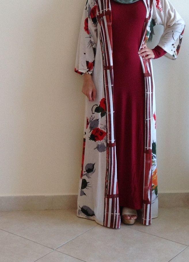 The Tropical Kimono/Abaya