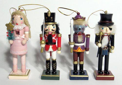 "Wholesale Nutcrackers – 5"" inch Nutcracker Character Ornaments – Nutcracker Fundraisers"