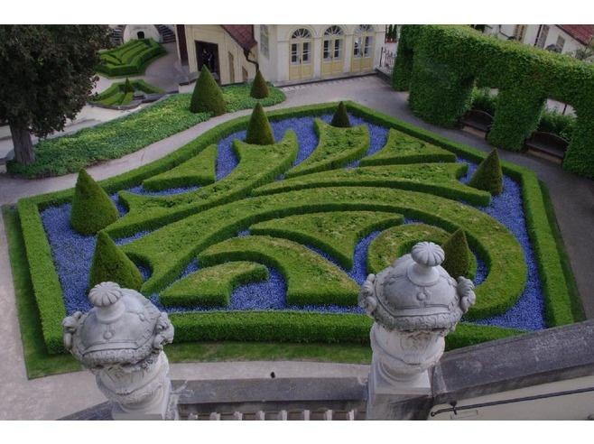 Vrtba Garden Prague, Czech Republic | View from the Highest Terrace of Vrtbovska Garden - Prague