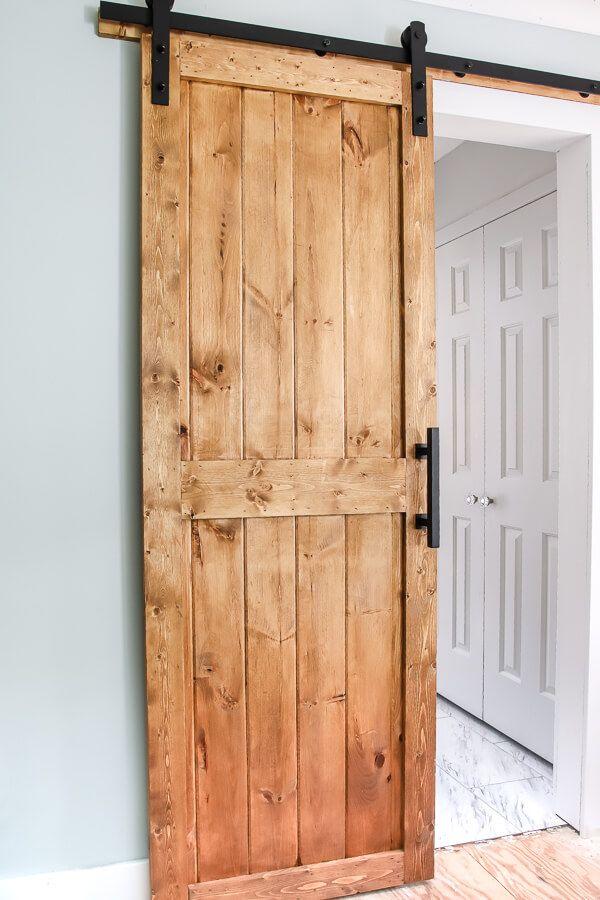 Make Your Own Diy Barn Door Living Letter Home Diy Barn Door Cheap Diy Barn Door Plans Door Plan