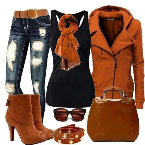 Stylish winter attire
