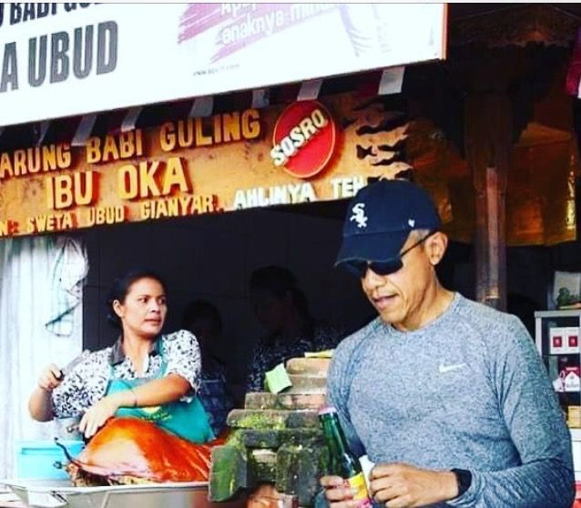 #TheObamas #FamilyVacation �#44thPresident #BarackObama #FirstLady #MichelleObama & Their #Daughters #MaliaObama & #SashaObama #Bali #Indonesia #Vacation #June24 #2017 Barack Obama #lived there in the 1960s after his mother Ann Dunham married second husband Lolo Soetoro, a native #Indonesian his #sister Maya Soetoro-Ng. & her family joined The Obamas on Vacation �#ObamaFamily #ObamaGirls #ObamaLegacy #ObamaHistory #ObamaLibrary #ObamaFoundation Obama.org