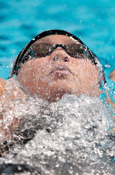 Katinka Hosszu of Hungary competes during the Swimming Women's 400m Individual Medley preliminaries heat two on day sixteen of the 15th FINA World Championships at Palau Sant Jordi  on August 4, 2013 in Barcelona, Spain.