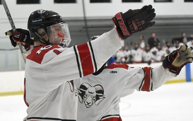 New Canaan ice hockey stops Glastonbury, punches ticket to Div. I semis | New Canaan Advertiser