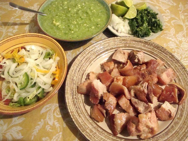 Aquí les dejo esta receta de carnitas para chuparse los dedos!!! PARA VER LOS TIEMPOS DE COCION DE LA CARNE visiten el blog http://larecetadelaabuelita.blogs...
