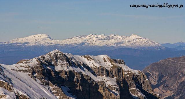 Mt Tymfi and mt Tzoumerka