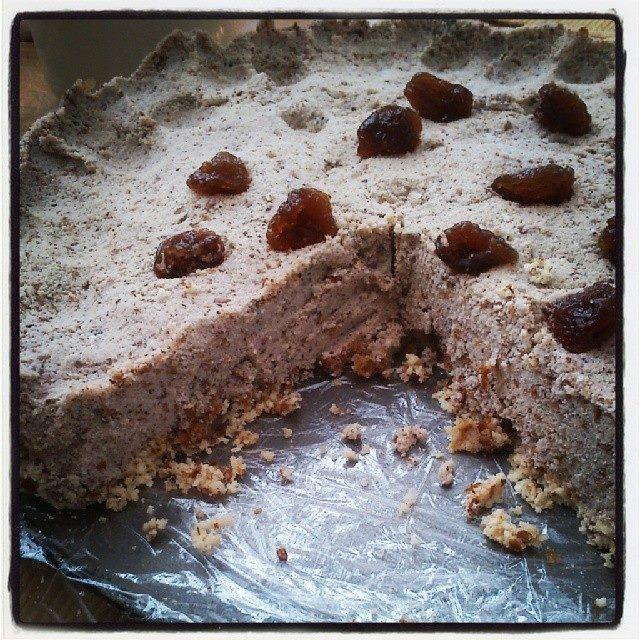 Raw Vegan Cherry cake :)