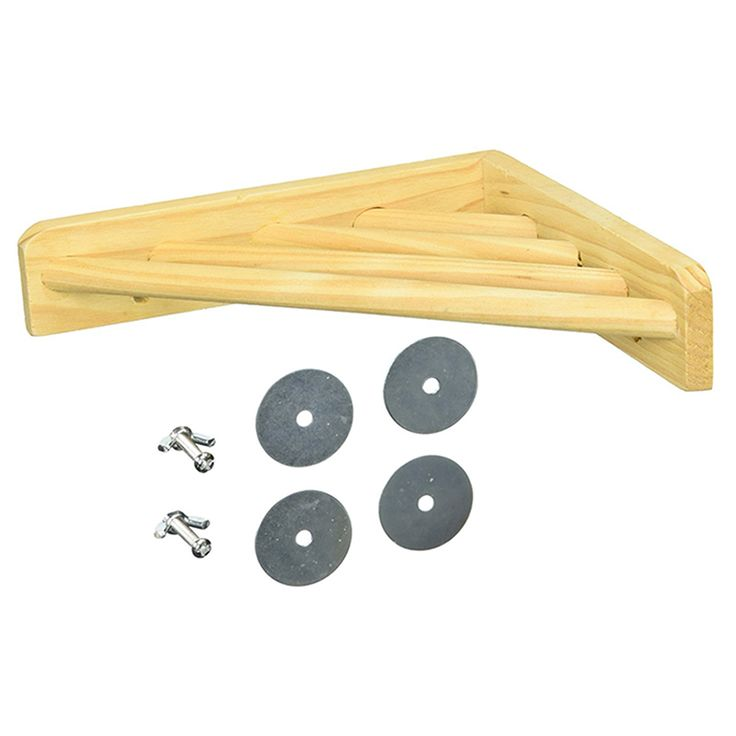 Hohe Qualität Lustig Holz Ecke Regal Laddered Plattform für Vogelkäfige Papagei stehen Pet Produkte NB0339