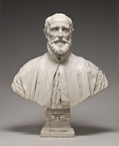 Cuando Bernini realizó este espléndido busto de Francesco Barberini, éste ya había fallecido; fue en el año 1600, cuando Bernini tenía tan sólo dos años. La escultura tallada fue realizada a partir de un retrato (cuadro) existente de Francesco.