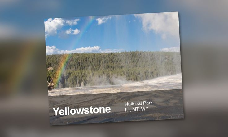 Yellowstone National Park is a national park located primarily in the U.S. state of Wyoming, although it also extends into... http://nps.gov/yell