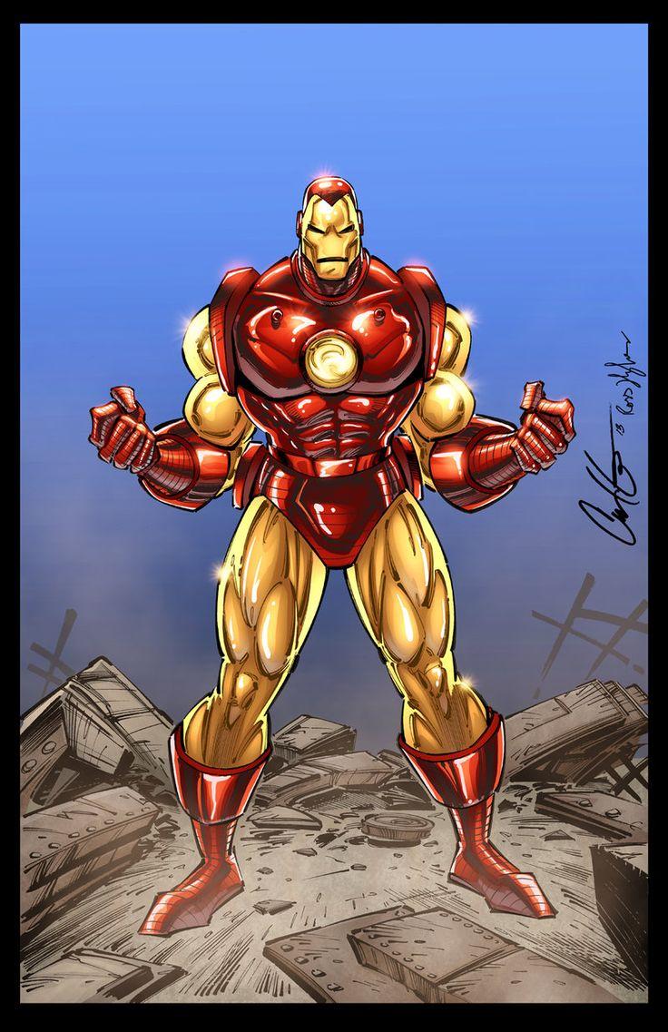 Iron Man Print by RossHughes.deviantart.com on @DeviantArt