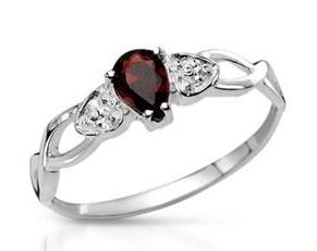 Modnique.com   All Sales Events   January Birthstone Garnet jewelry