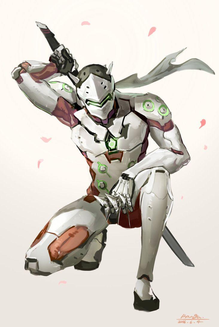Overwatch - Genji by Ramgu