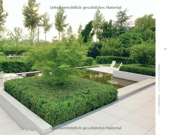 Moderne Gartenarchitektur - minimalistisch, formal, puristisch Garten- und Ideenbücher BJVV ...