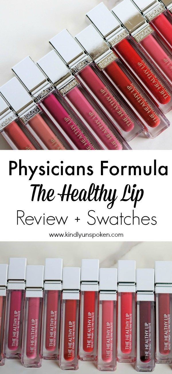 Physicians Formula The Healthy Lip Liquid Lipsticks Review