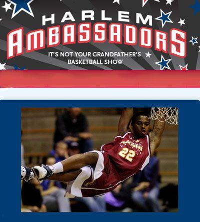 THURSDAY: Harlem Ambassadors vs. Windsor Diplomats