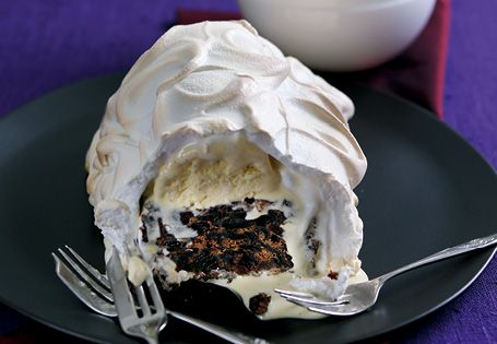 ALDI - Christmas Baked Alaska Alternative Christmas Pudding