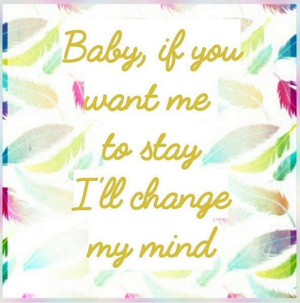 ONE DIRECTION -CHANGE MY MIND