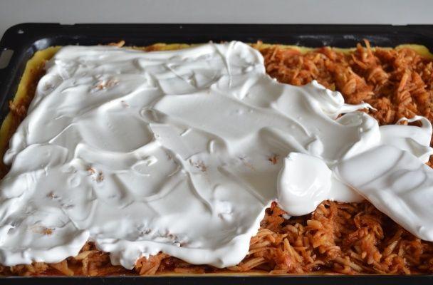 Strúhaný jablkový koláč - Barónkine rezy (fotorecept) - obrázok 6