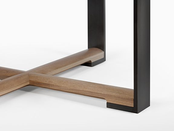 details we like / wood / metal / table / table leg / madeline table/ @Holly Hanshew Hunt