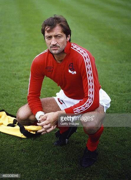 Bolton Wanderers striker Frank Worthington looks on before a League Division Two match against Brighton at Goldstone Ground on October 8 Bolton were...