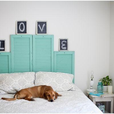 Hazlo t mismo 5 ideas para montar un cabecero de cama - Ideas para cabecero ...