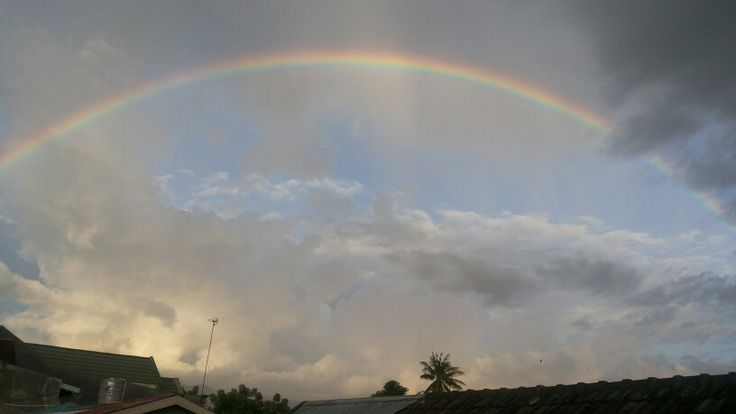 Rainbow @my home,palu city