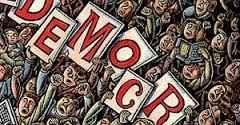 """Kritik Jenderal Besar AH Nasoetion Terhadap Demokrasi Liberal  Ilustrasi  """"Negara tidak lagi pouvoir neutre karena diluar terjadi perebutan pengaruh dan kekuasaan untuk menguasai negara. Kedaulatan dan kekuasaan terpecah di luar pemerintahan yang sering disebut dengan istilah pressure groups Keadaan demikian dapat membawa keliberalan di segala bidang kehidupan yang akhirnya akan menjurus ke arah anarchisme. Perangkat demokrasi liberal yang di Eropa Barat sendiri telah mengalami kemerosotan…"""