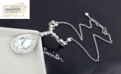 Collar con cristales Swarovski Elements