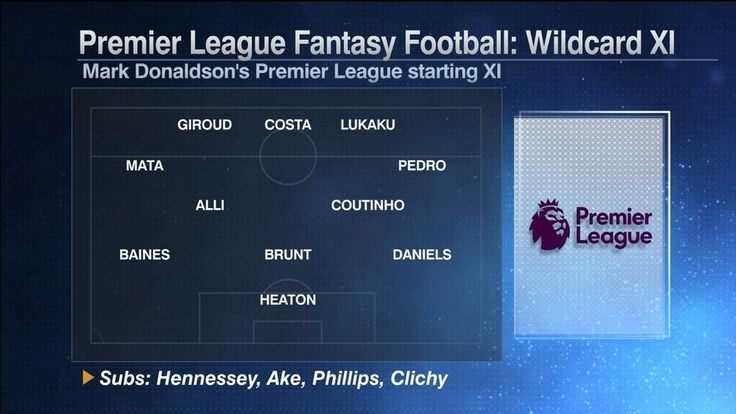 Fantasy Football: Prem's wildcard XI