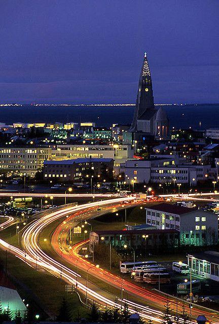 Cityscape - Reykjavik , Iceland.