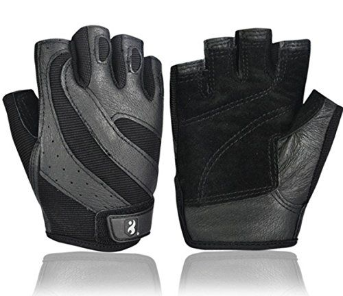 BOODUN Men's Weight Lifting Gloves With Wrist Support For Gym Workout, Crossfit, Weightlifting, Fitness