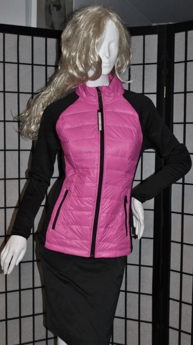 Packable Pink/Black CALVIN KLEIN Performance Quilted Premium Down Jacket Coat SOur price: $34.00http://2tymingthreads.com/index.php?l=532226