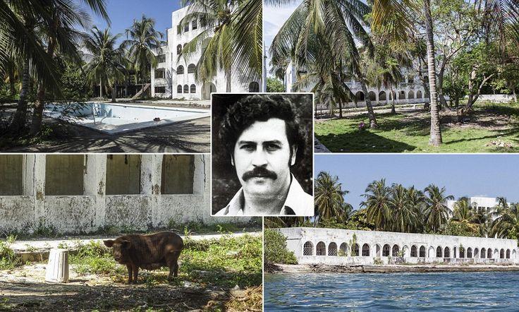 Eerie pictures reveal lavish lifestyle of drug kingpin Pablo Escobar