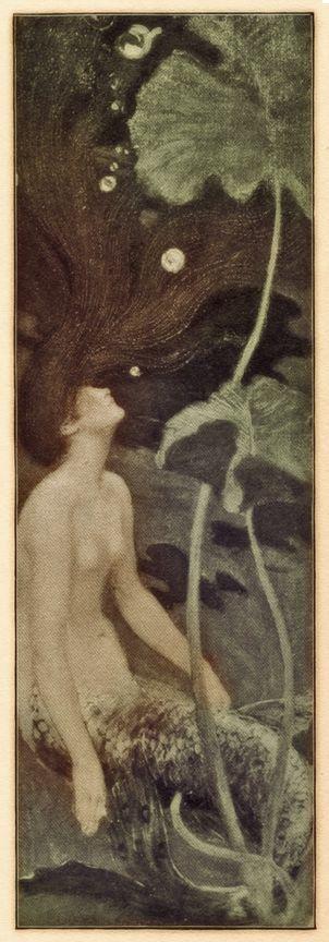 "Maurice Greiffenhagen ""Mermaid"" ca 1900"