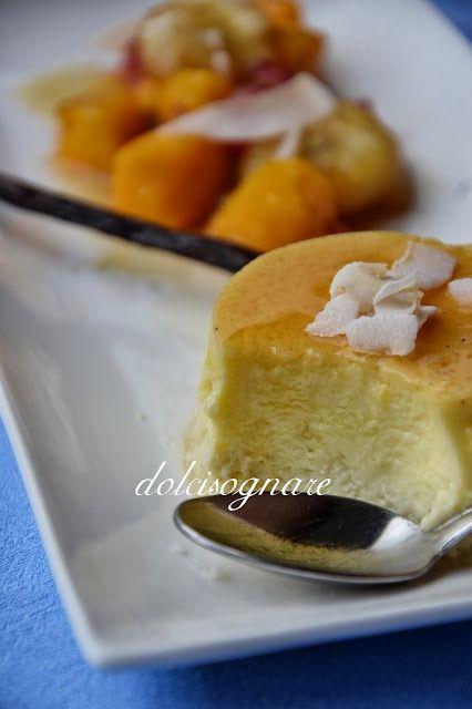 DOLCISOGNARE: Budino al latte di cocco e vaniglia