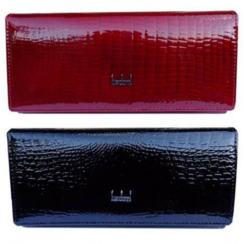Patent Leather Purse - Black & Red - Shop Online Now at www.lillyjack.com.au