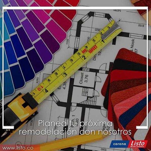 listomundoceramicoTe acompañamos en el diseño y planeación de tu próxima remodelación.visitanos en http://listo.com.co/#contactanos y cuentanos tus ideas.#renovarseesvivir #hogar2018 #diseños #diseñodeinteriores #arquitectura #remodelacion #ideas #servicioalcliente