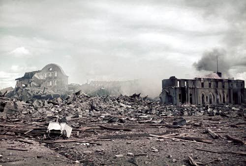 Ruins of Viipuri Train Station, destroyed by Russia | Viipurin aseman rauniot. Viipuri