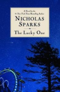 The Lucky One by Nicholas Sparks (one of the few Nicholas Sparks books with a happy ending)