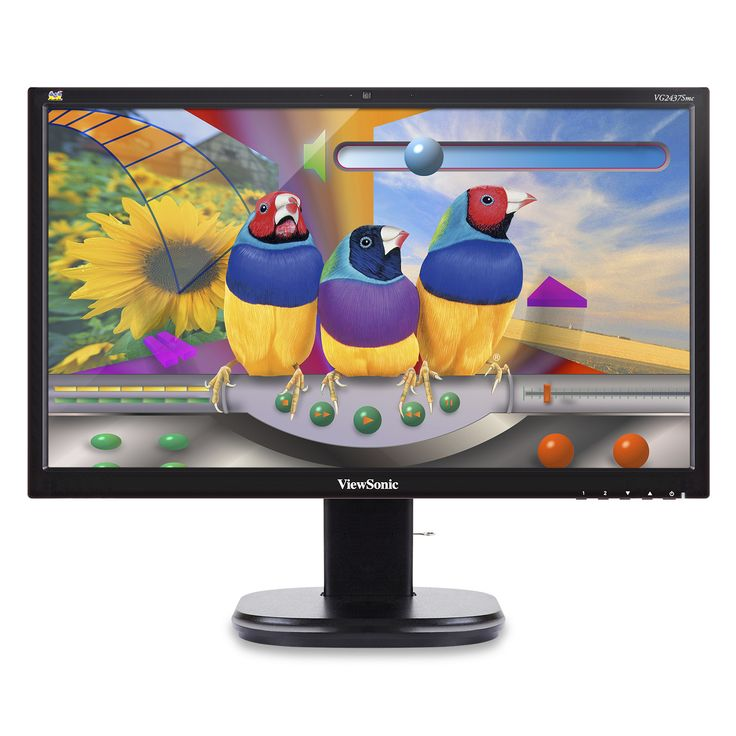 "Viewsonic VG Series VG2437Smc 24"" Black Full HD"