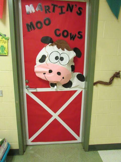 Moo Cow Door