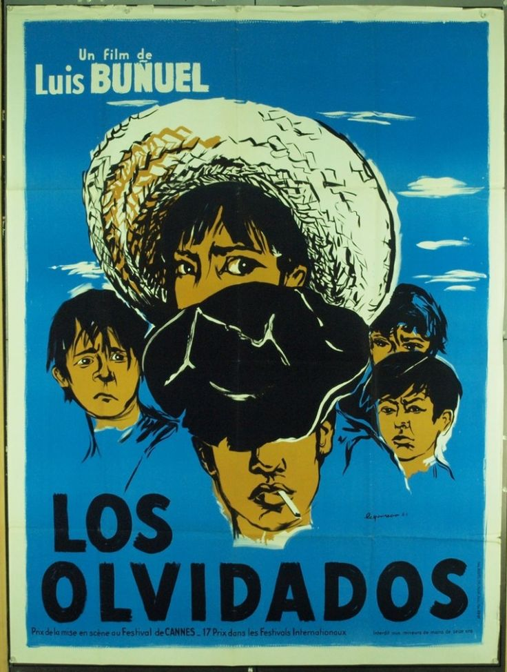 Los Olvidados (Luis Buñuel, 1950) French design by Eric Lepoureau